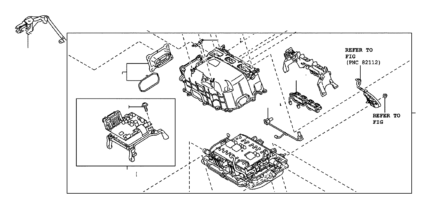 Toyota Prius Computer sub-assembly, motor generator