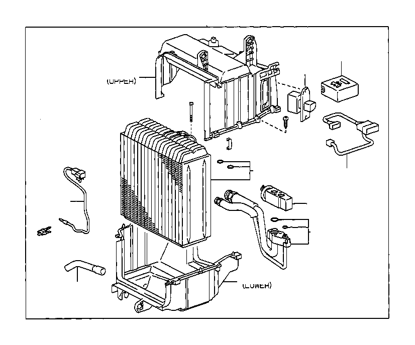 Toyota Corolla Tube assembly, air conditioner