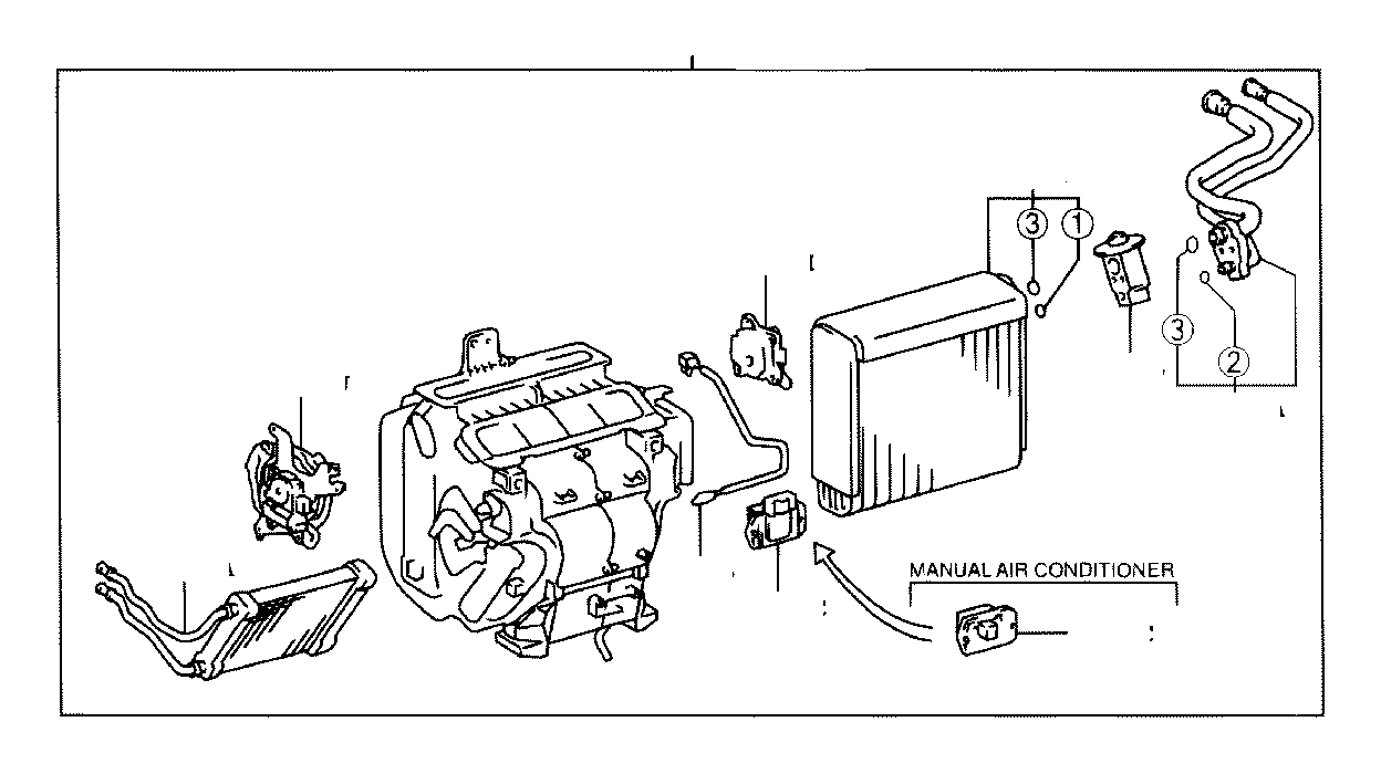 Toyota Highlander Tube assembly, air conditioner