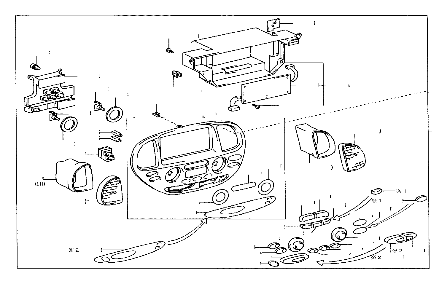 Toyota Sequoia Board sub-assembly, printed wire