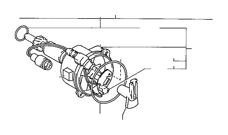Toyota Truck Generator assembly, signal. Engine
