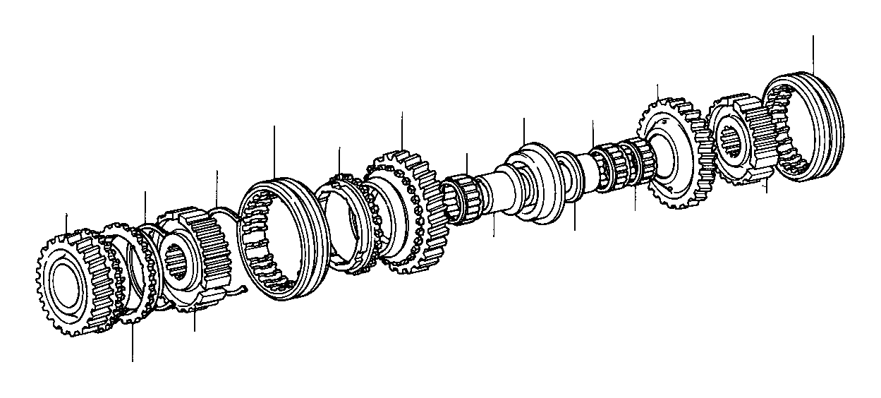 2001 Toyota Corolla Transmission Diagram