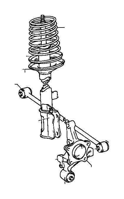 Toyota Celica Spring, coil, right rear. Suspension, usa