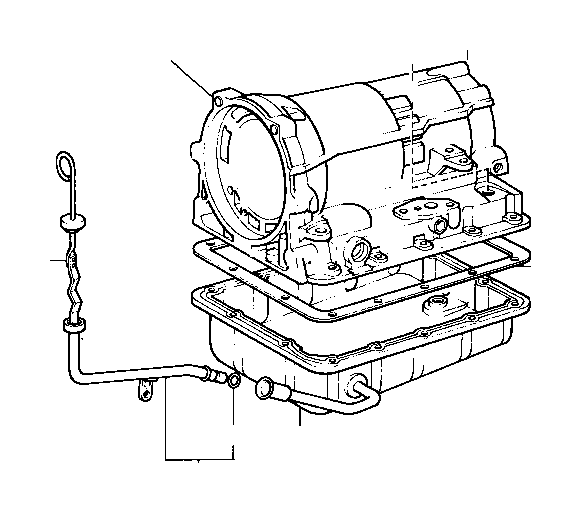 Toyota Van Case sub-assembly, automatic transmission. Atm