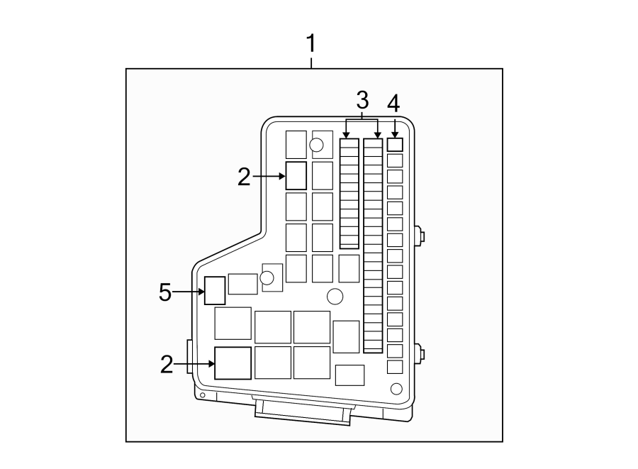 Ram 1500 Relay. 2011-20, micro, #1. Passenger compartment