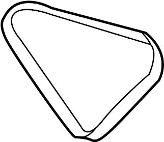 Nissan Xterra Accessory Drive Belt. INTEGRAL, PWR, STRG