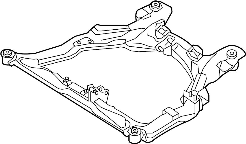 Nissan Maxima Engine Cradle (Front). MEMBER, STRUT