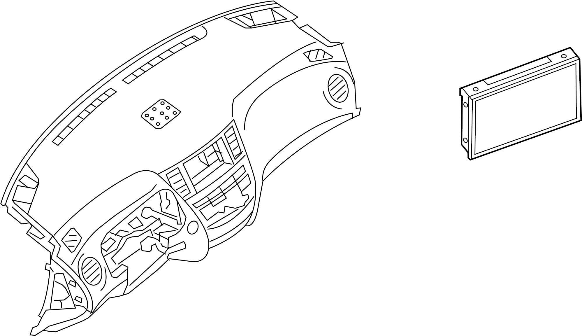 Nissan Pathfinder Gps navigation system. Audio, unit