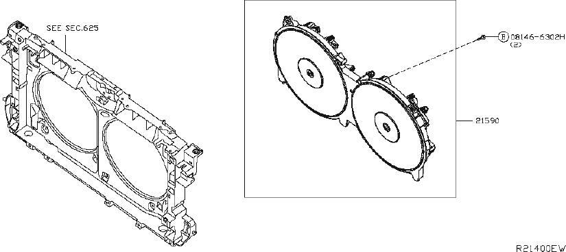 Nissan Altima Hose Oil Cooler, Auto Transmission. RADIATOR
