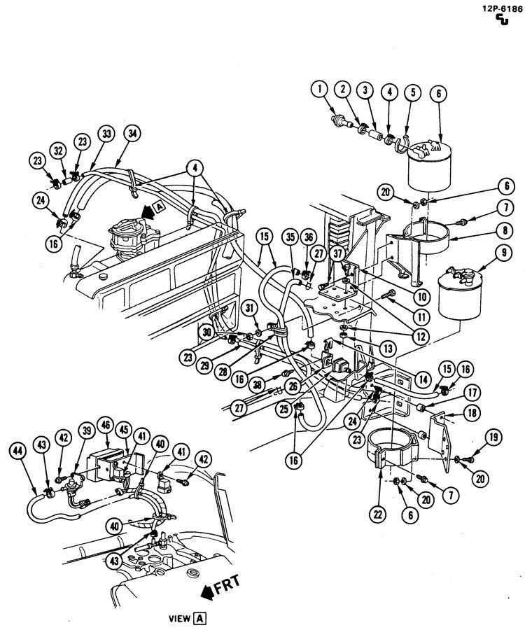 EVAPORATIVE EMISSION CONTROL SYSTEM; VAPOR CANISTER