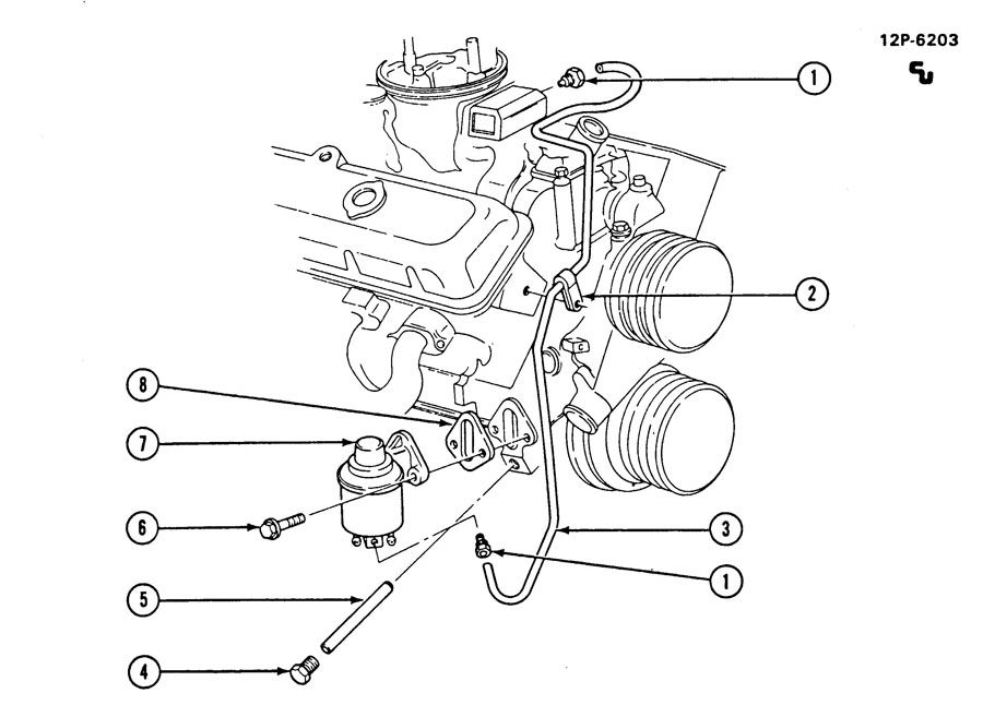 FUEL LINES/FRONT; FUEL PUMP MOUNTING & LINE ROUTING; FUEL