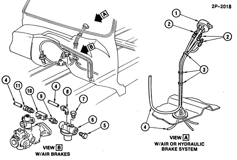 AXLE SHIFT AIR LINES/FRONT