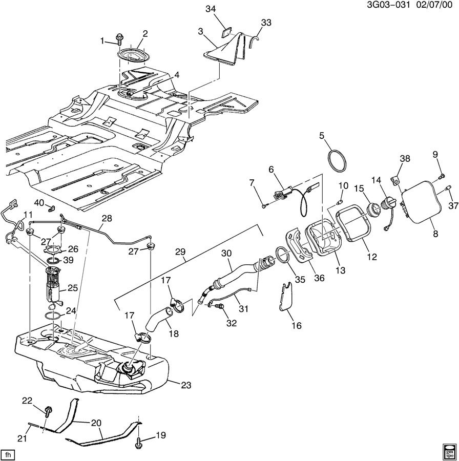 Problems With Northstar V8 Engine. Diagram. Auto Wiring