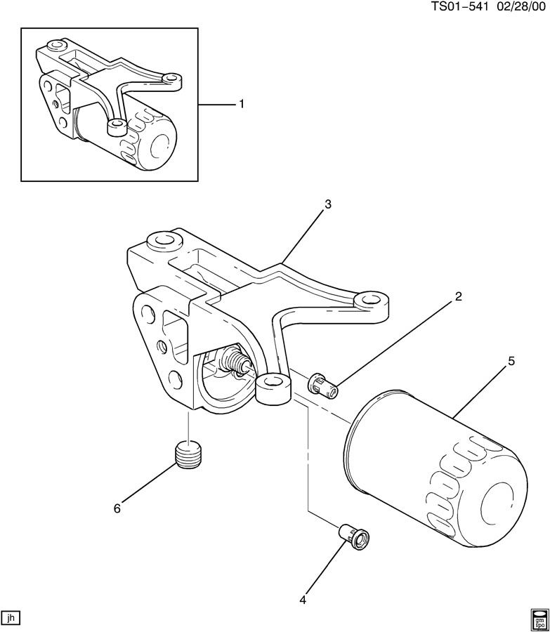 ENGINE OIL FILTER & ADAPTER