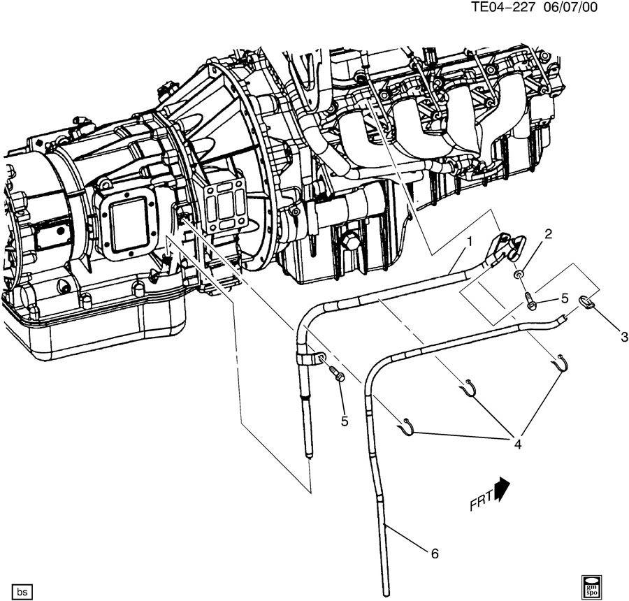 TRANSMISSION FILLER TUBE & INDICATOR & MTW/MX4 TRANS & L18