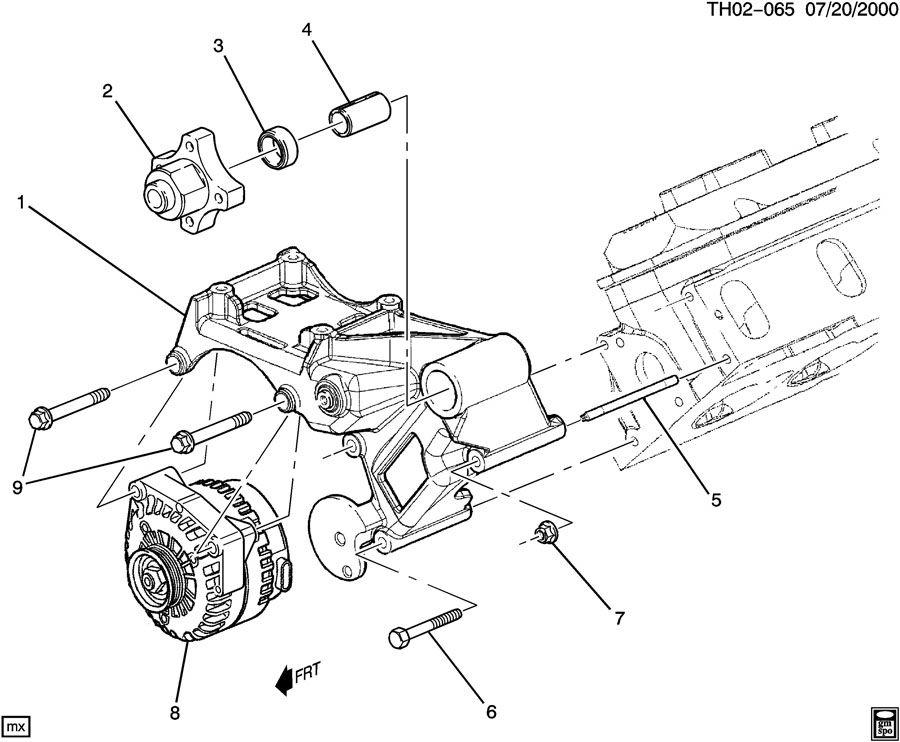 gm bus engine diagram