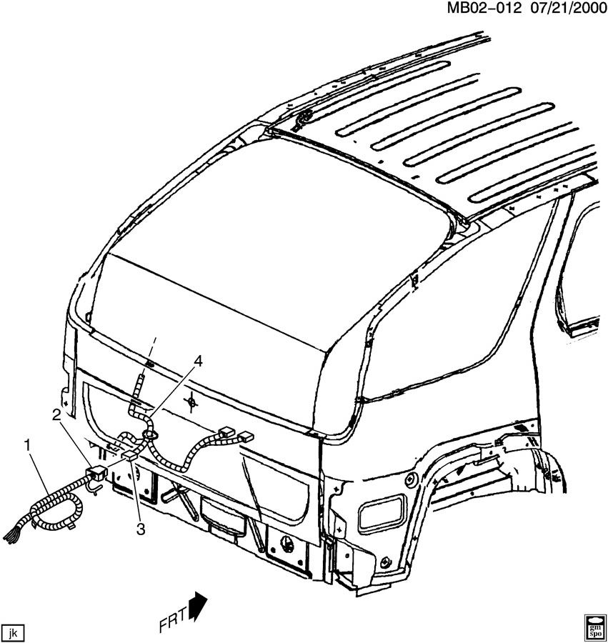 buick rendezvous trailer wiring harness