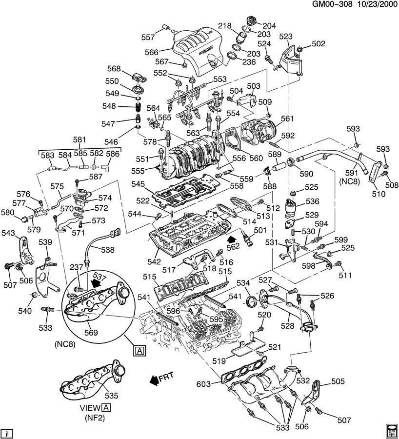 Gm 3800 V6 Parts Diagram. Gm. Auto Parts Catalog And Diagram
