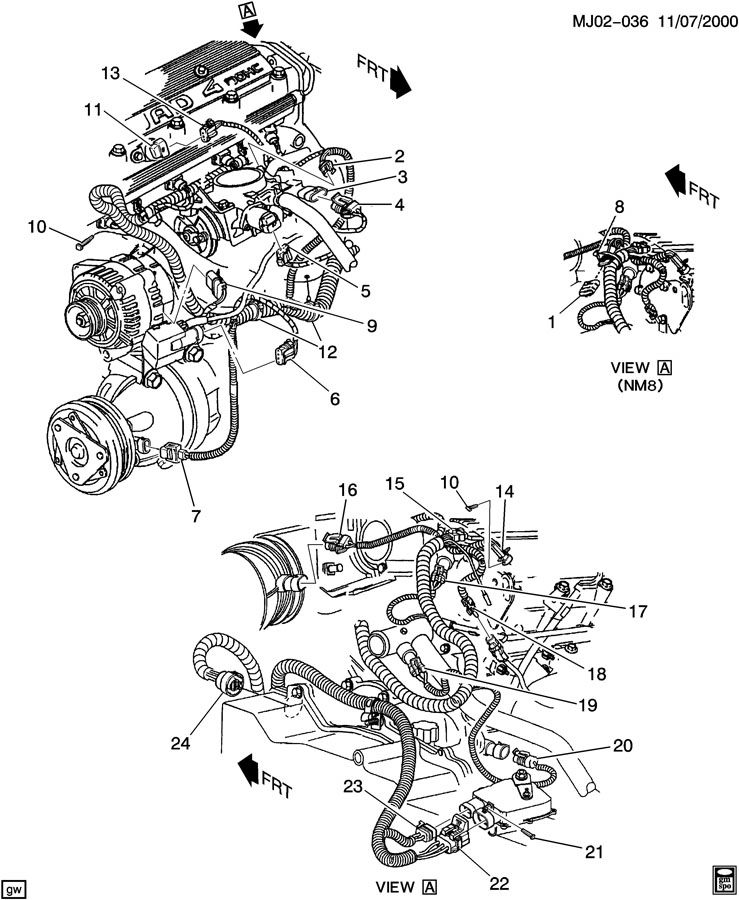 2000 Pontiac Sunfire Fuel Pump Wiring Diagram : 2000 Chevy