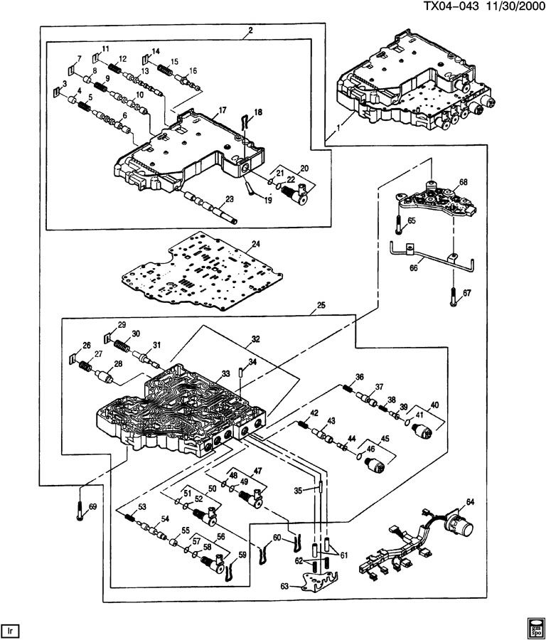 Duramax Allison Transmission 1000 Wiring Diagram