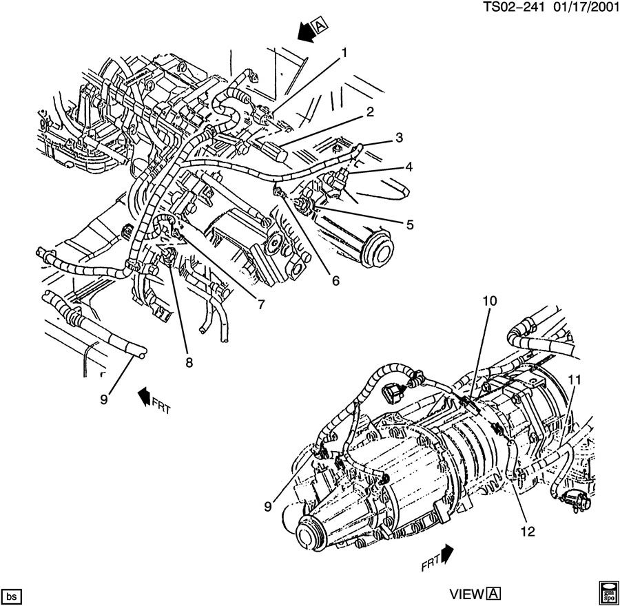 2002 Chevy Blazer Transfer Case Diagram, 2002, Free Engine