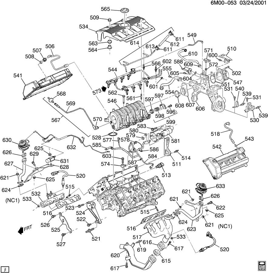 2002 Dodge Durango Steering Column Diagram, 2002, Free