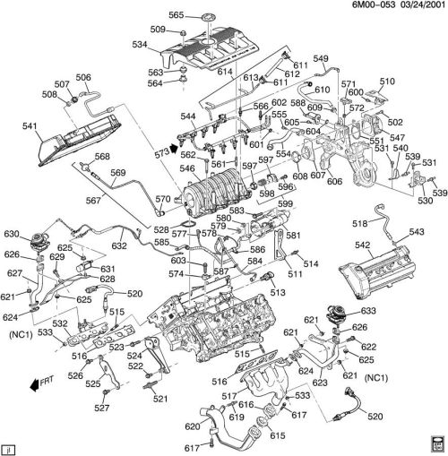 small resolution of gm northstar engine diagrams wiring source