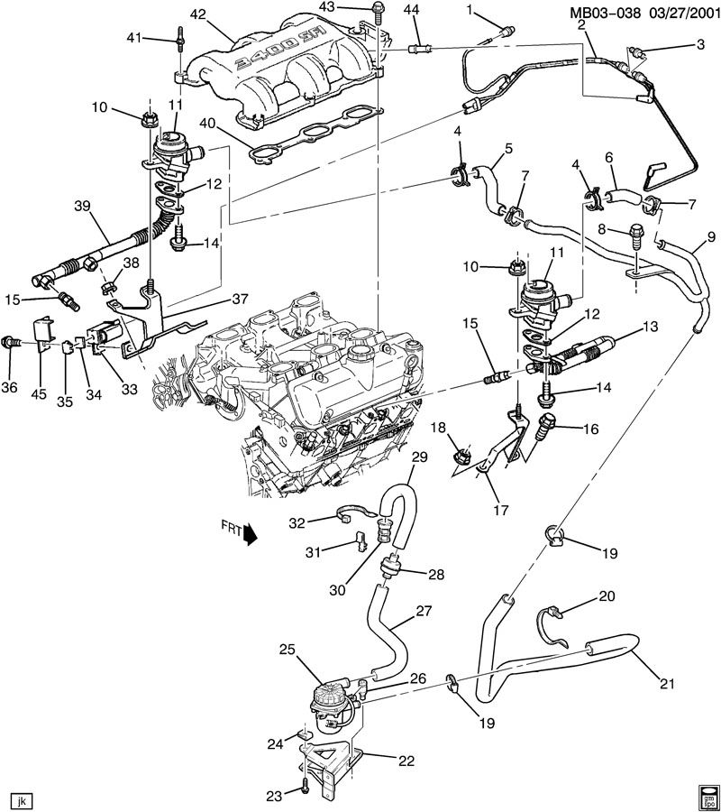 wiring diagram for pontiac aztek 2005