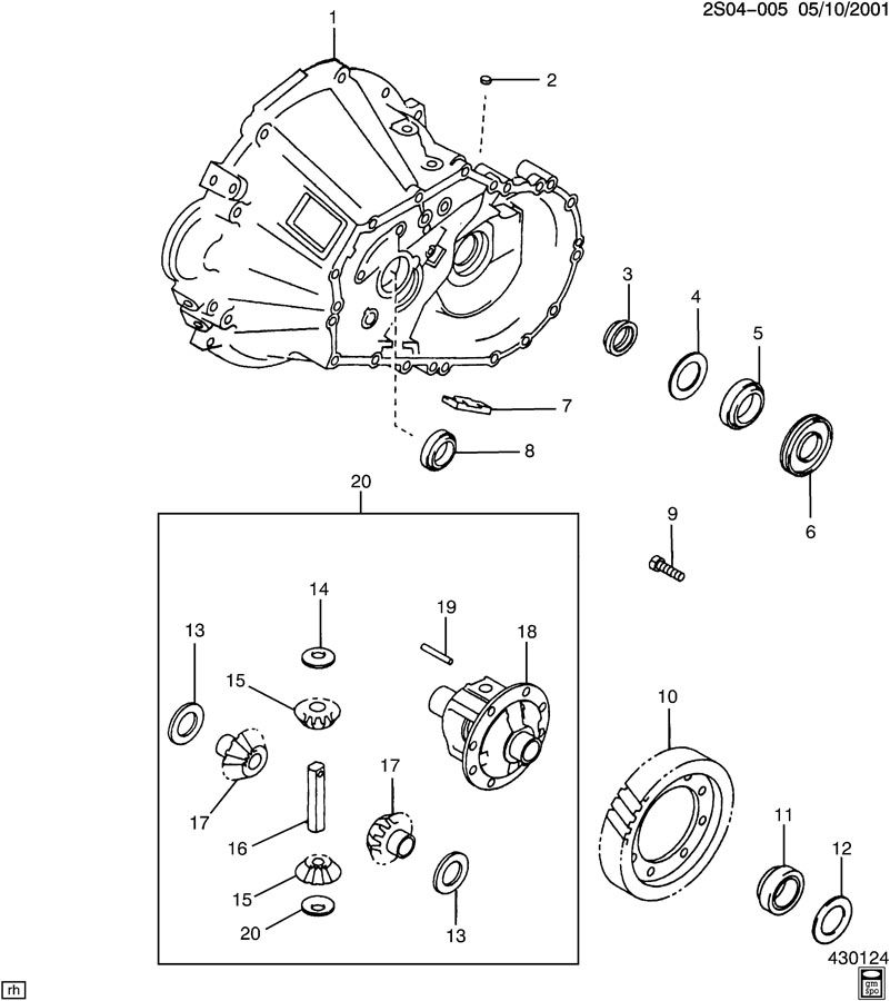 5-SPEED MANUAL TRANSAXLE