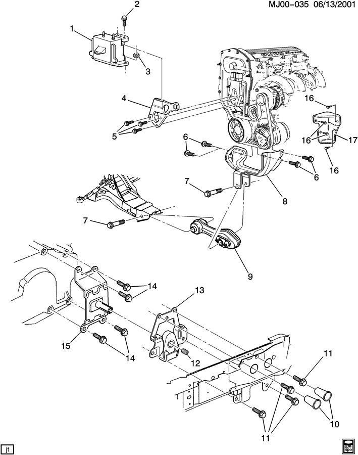 1999 oldsmobile intrigue 3.8 engine diagram