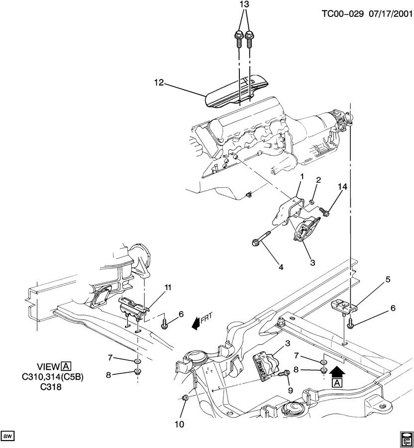 Gm 8 1 Gas Engine, Gm, Free Engine Image For User Manual