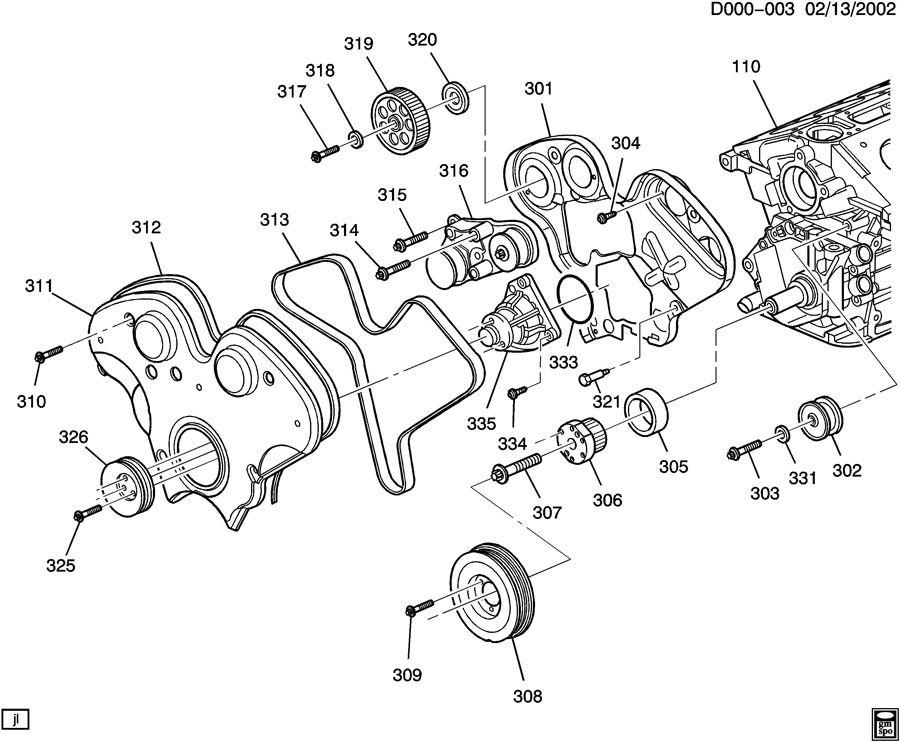 Cadillac CTS ENGINE ASM