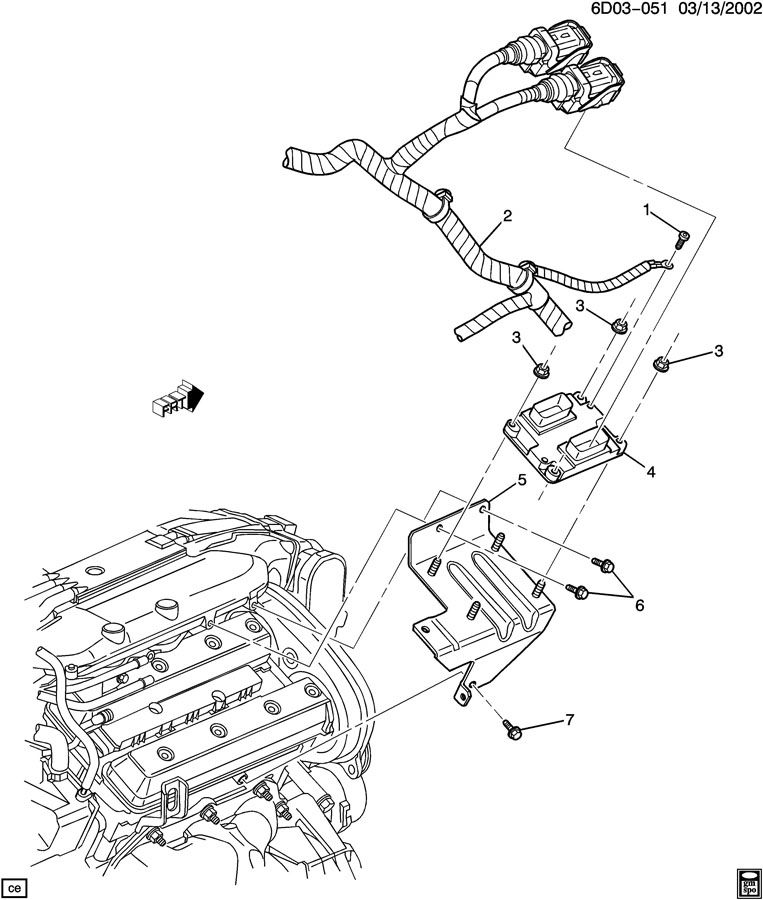 E.C.M. MODULE & RELATED PARTS