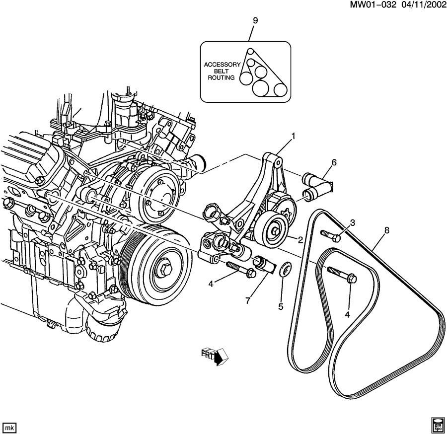 [1999 Chevrolet Monte Carlo Engine Timing Chain Diagram