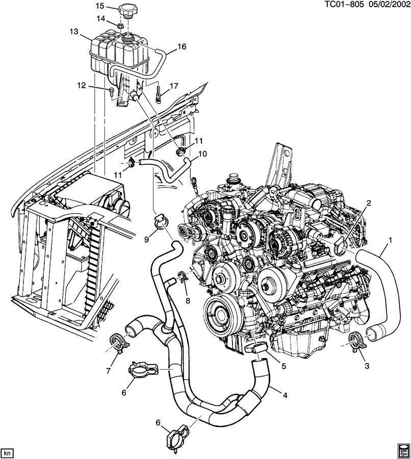 01 Ram Radiator Diagram, 01, Free Engine Image For User