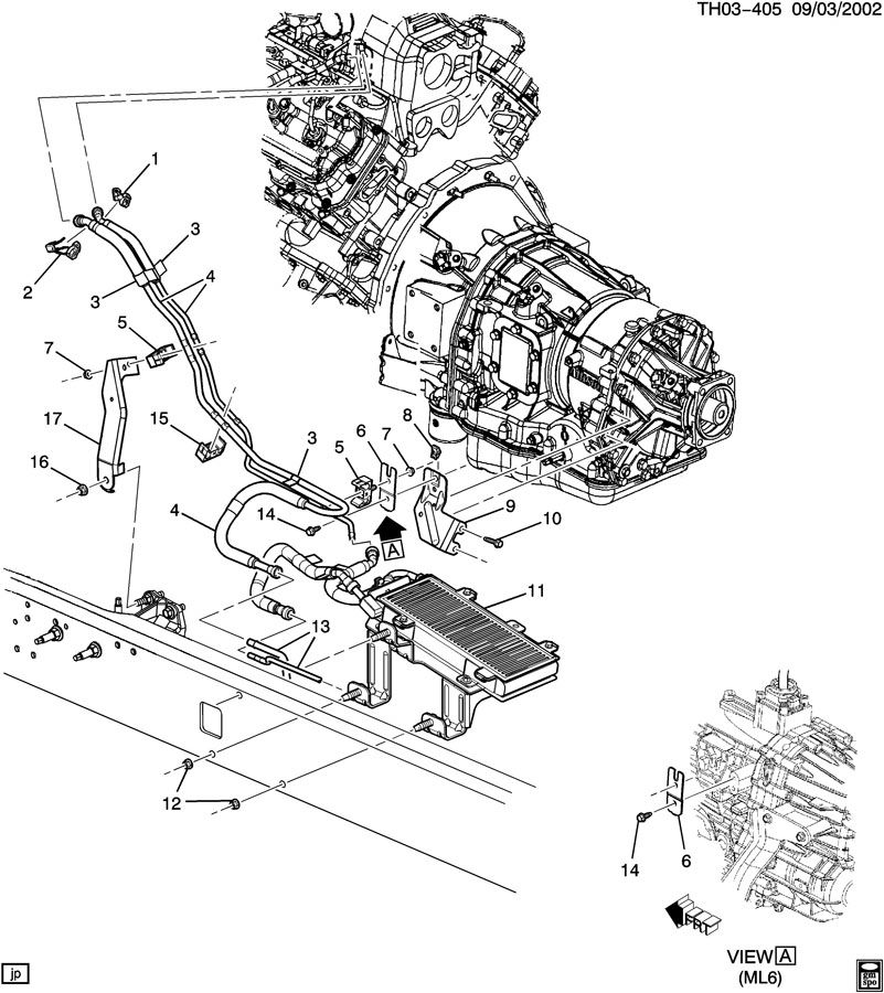 2004 FUEL SUPPLY SYSTEM-FRONT