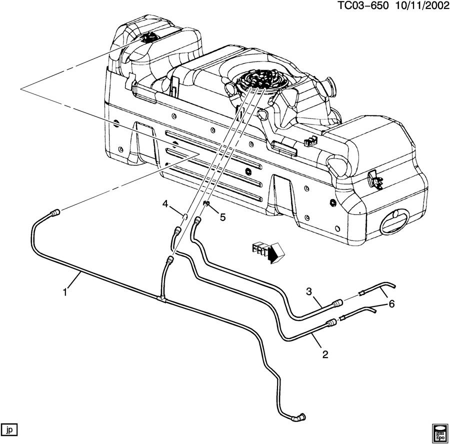 CK157,257; CK157,257(03-53) FUEL SUPPLY SYSTEM-REAR; FUEL
