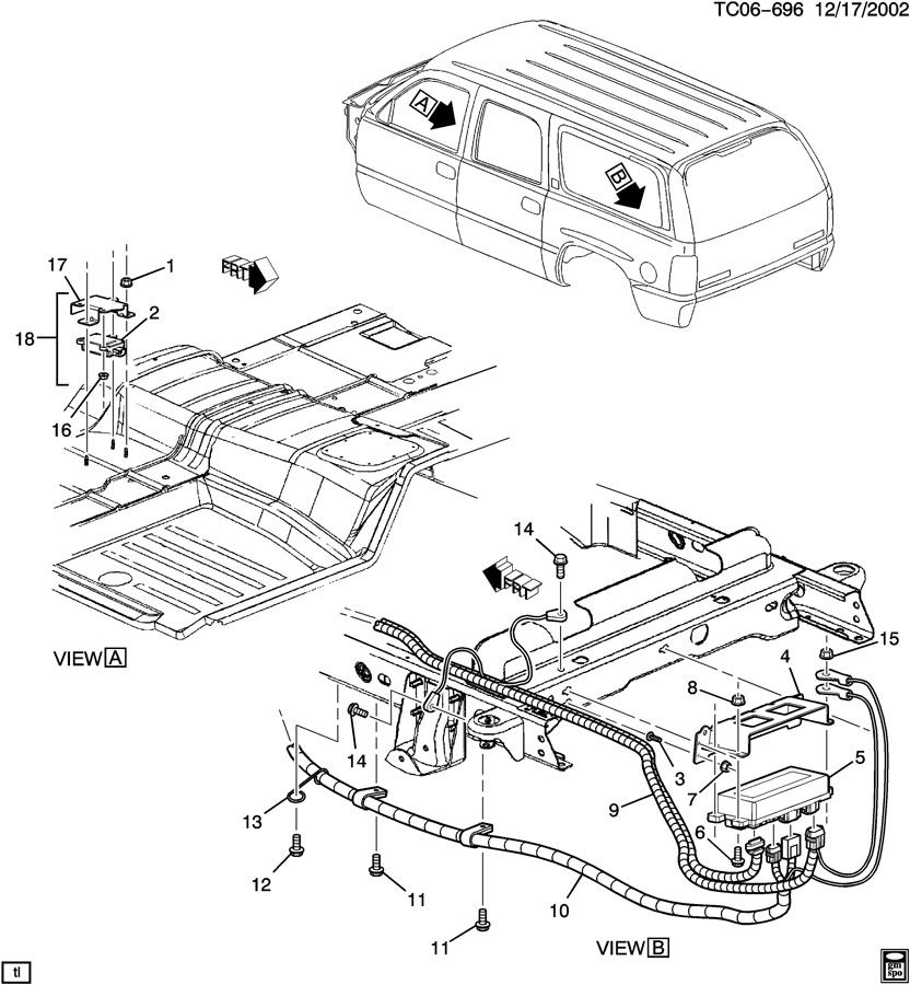 STEERING CONTROL SYSTEM/REAR