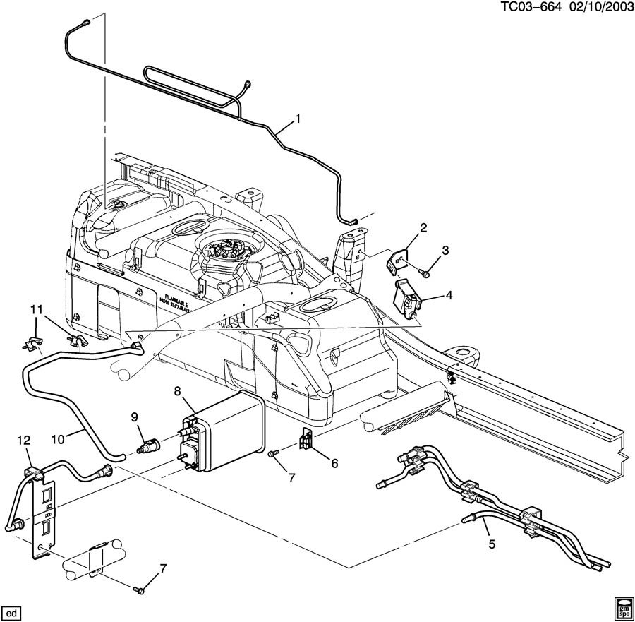 Search Results Gmc Sierra 1500 Evaporative Evap Emission