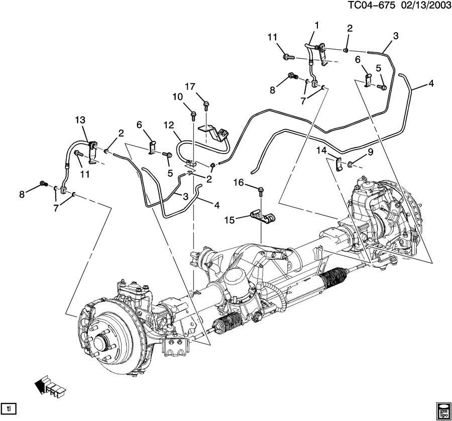 Ford F53 Brakes Diagram