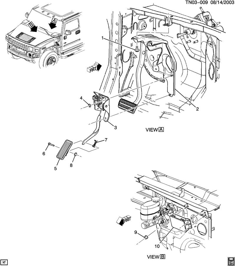 Service manual [Brake Change On A 2004 Hummer H2