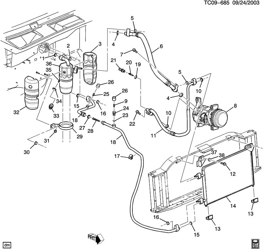 Heater Core Diagram 2003 Dodge Stratus, Heater, Free