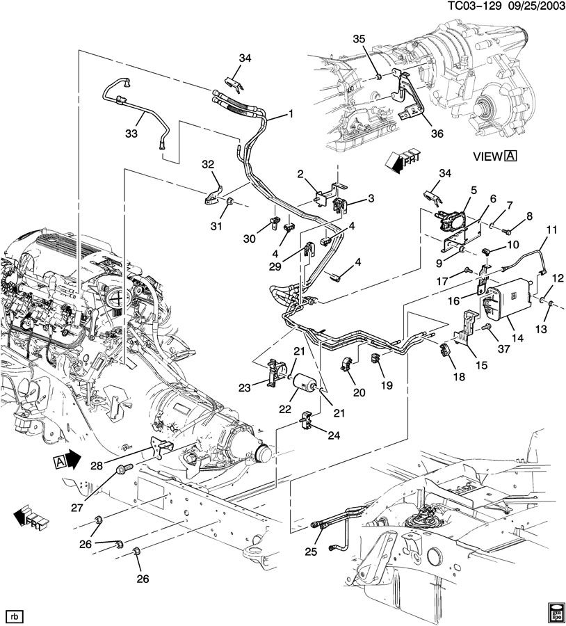 Wiring Diagram: 31 2002 Chevy Silverado Fuel Line Diagram