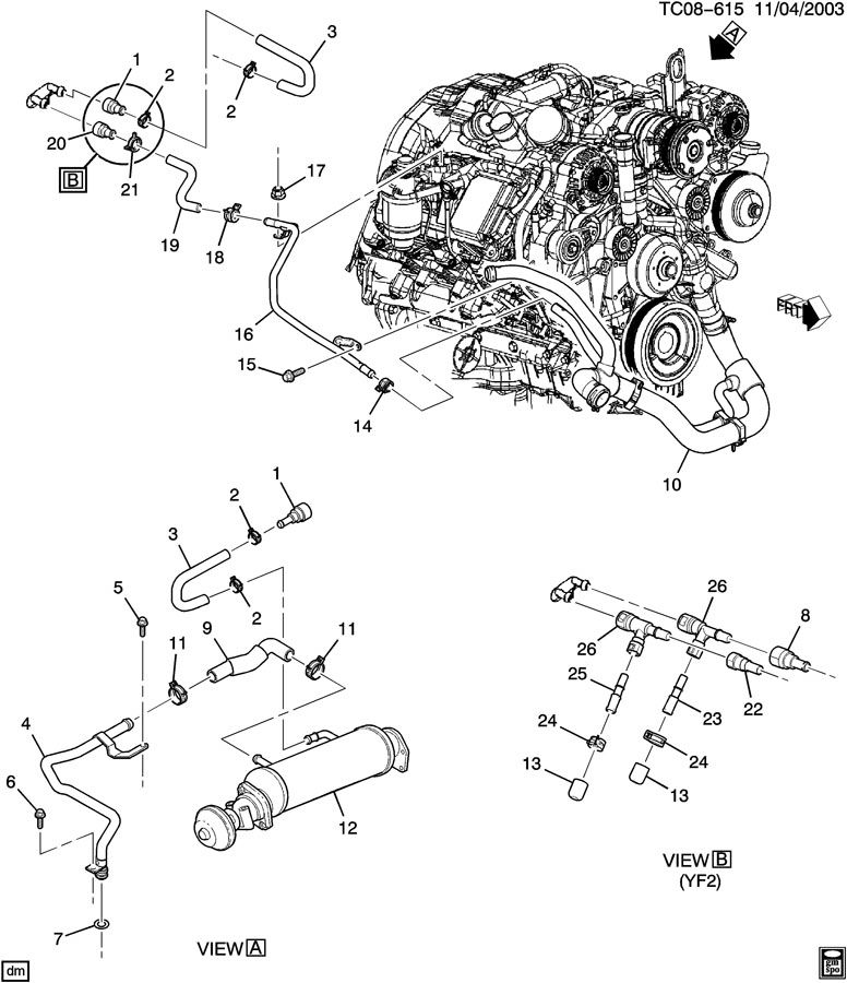 Gm 5 3 Direct Injection Engine Diagram GM Vortec Engine