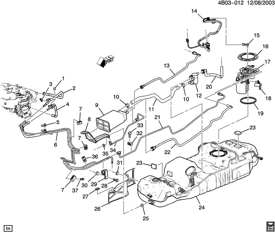 Buick Rendezvous Exhaust Diagram, Buick, Free Engine Image