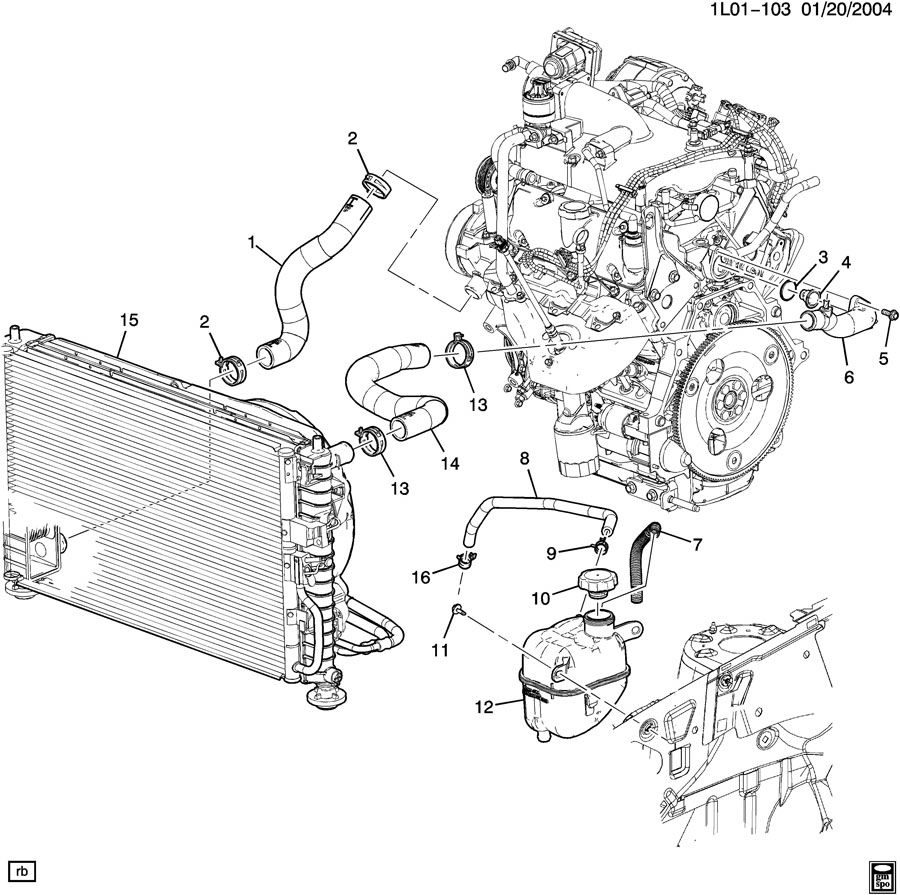 Wiring Diagram: 28 2006 Chevy Equinox Cooling System Diagram