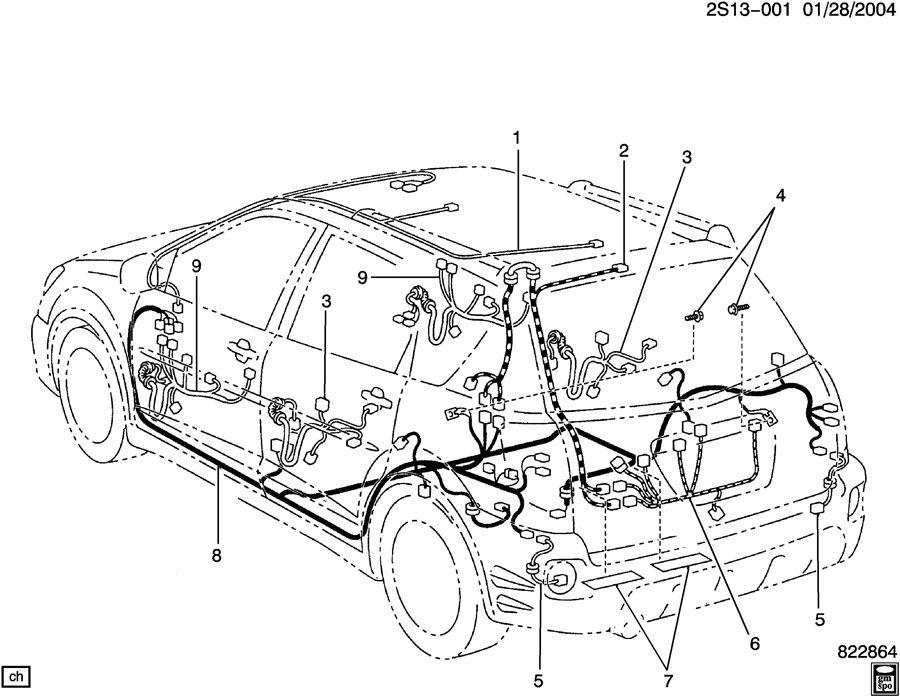 2006 pontiac vibe wiring diagram