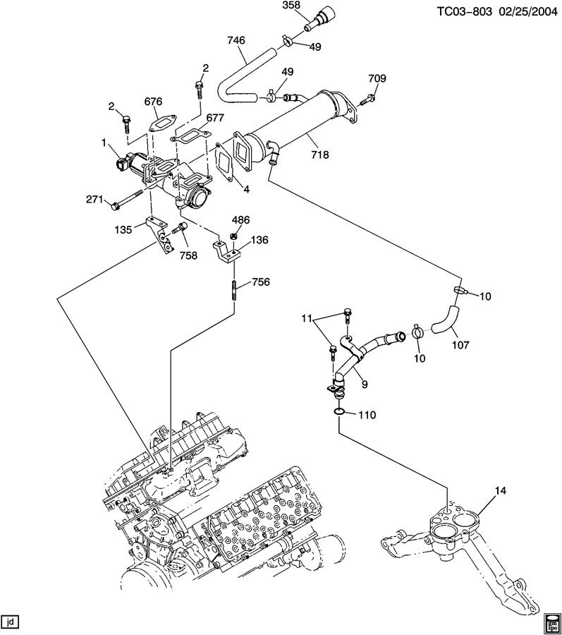 2005 Duramax Egr Valve Diagram Pictures to Pin on