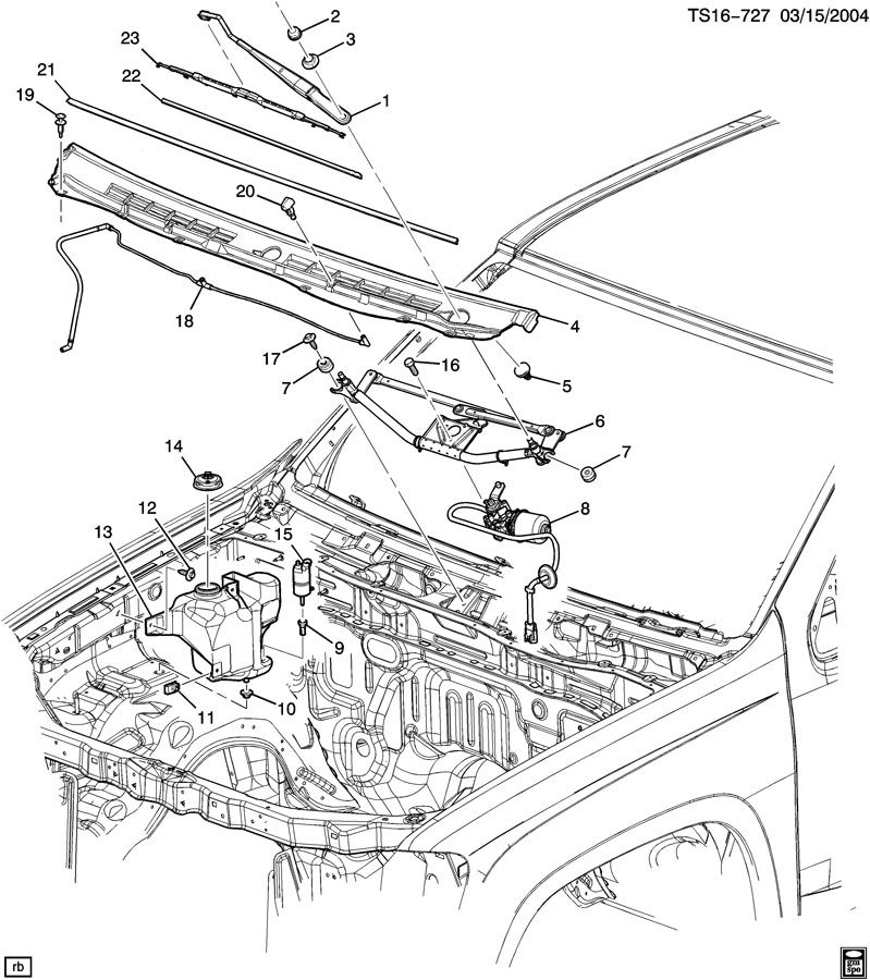 WIPER SYSTEM/WINDSHIELD