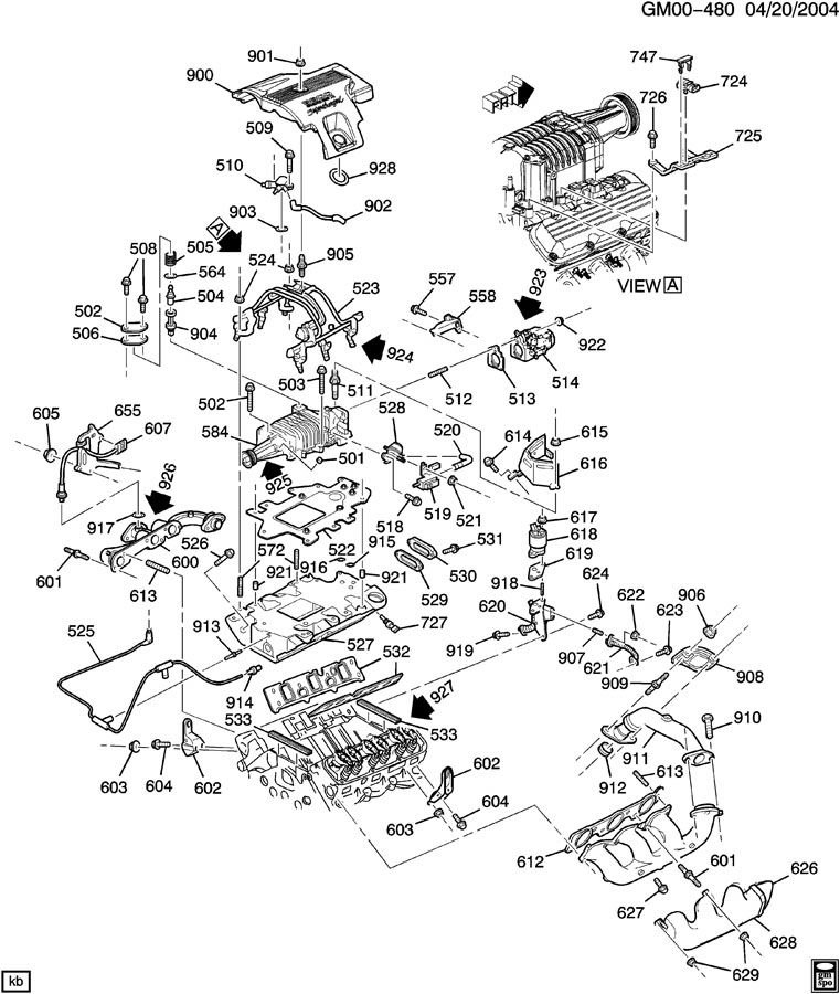 2000 Monte Carlo Engine Parts Diagram Car Tuning, 2000